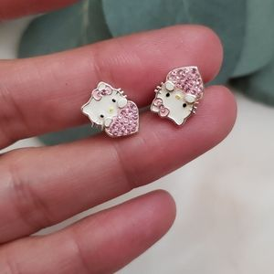 Hello kitty studs